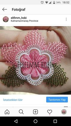 Crochet Unique, Tatting Lace, Needle Lace, Crochet Squares, Needlework, Quilts, Beautiful, Tattoos, Model