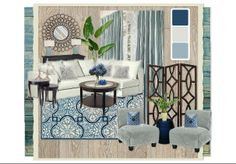 Cobalt Living by love | Olioboard Benjamin Moore Sponsored Contest May 2012