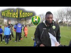 Wilfried Kanon - ADO Den Haag and Ivory Coast player- Interview Nov 2016 in Pijnacker South Holland. Interview with Wilfried Kanon ADO Den Haag defender. Also a key member of the Ivory Coast team who won the 2015 African Cup. In part thanks to the great defending and assists from Kanon and the penalty he scored for them! Wilfried Kanon speaks French and a little English and even less Dutch. So we brought some pictures with us to help with the questions. Was fun to interview Wilfried Serge…
