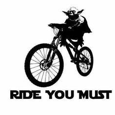 Mountain Biking MTB Bike Star Wars Yoda