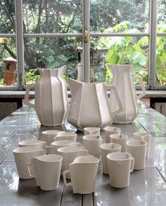Ceramic Cups and Jugs  Piet Hein Eek