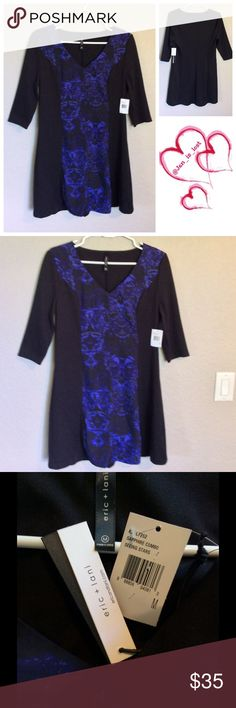 ☀️BOGO 50% OFF SALE☀️ Eric & Lani Dress Medium New with tags dress.  Will add measurements shortly. Eric + Lani Dresses