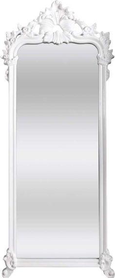 OnLine Atelier - Loja Virtual - arte - decoração - design - Espelho ref 001021, com 4mm, com moldura em PU Branco, 70cm de largura x 168 cm de altura. Pronta Entrega. Informações: onlineatelier@hot... (54) 9165-9726