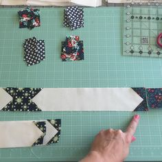 Step 7 star sashing: You will repeat the process of adding star tips to all of…