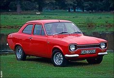 Ford Escort Mk I - Mine was a little more battered than this but I loved her with all my heart x Classic Cars British, British Sports Cars, Ford Classic Cars, Escort Mk1, Ford Escort, Nissan, Automobile, Cars Uk, Ford Gt40