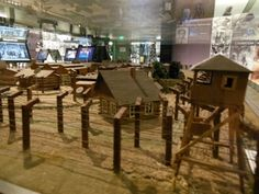 Come see the Sobibor Extermination Camp model, created by Sobibor survivor Thomas Blatts for the Museum
