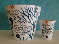 Totally Nautical Wisdom From The Ocean Flower by SummerBirdDesign