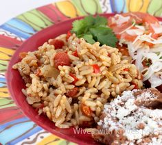 Mexican Rice - The perfect summer side dish