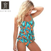 Kaywide Summer Beach Rompers Women's Jumpsuit Finger Printed Sexy Slim Swimsuits Strap Woman Bodycon Bodysuit Plus Size Playsuit