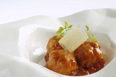 'Albóndigas de bacalao'. Gastronomía Aragonesa
