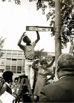 In 1973, the State of Illinois became the first state to make Martin Luther King's birthday a state holiday.