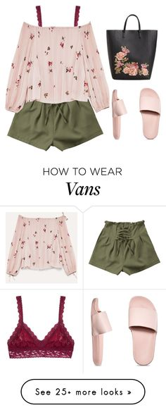 """don't be a house plant"" by katniss1212 on Polyvore featuring Hanky Panky, Vans, MANGO and Rushed"