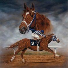 The Greatest Racehorse: Secretariat.
