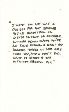 And the letters keep coming and the words are never useless. Cute Quotes, Great Quotes, Quotes To Live By, Inspirational Quotes, Pretty Words, Beautiful Words, Beautiful Images, Romance, I Want You