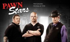 Pawn Stars, One of Best Reality Shows Rick Harrison and his family own and run a pawn shop on the Las Vegas strip. They buy, sell, and appraise items of historical value. Personally I think they should fire Chumly. Pawn Stars, Las Vegas, Movies Showing, Movies And Tv Shows, Star Tv Series, Star Cast, Great Tv Shows, Reality Tv Shows, History Channel