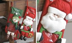 Decoração de Natal em feltro!