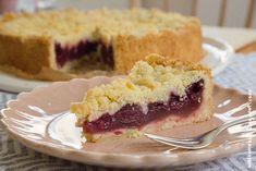 Kirschentraum mit Knusperhäubchen: Kirsch-Streusel-Kuchen mit Kirschpuddingschicht [vegan] | Wos zum Essn | Bloglovin'