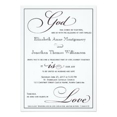 324 Best Christian Wedding Invitations Images In 2019