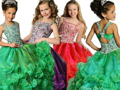 Ritzee Girls Pageant Dresses Style 6799