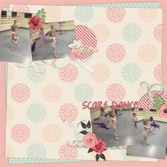 Made using {kit} Ballerina and {template} Ballerina: Templates by B2N2 Scraps