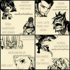 Why does fairy tail have to be so tear jerking