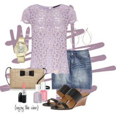 Fashion for Friday: Lavender and Lace