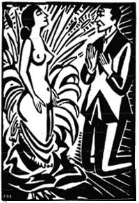 woodcut from Story Without Words, 1920