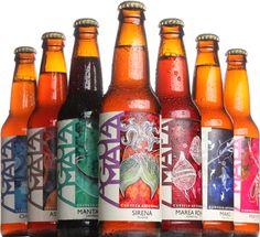 Agua Mala, una cerveza artesanal elaborada en la costa del Pacífico, México.