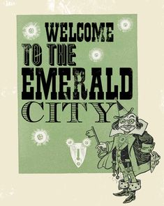 emeraldcity from Everything Oz book