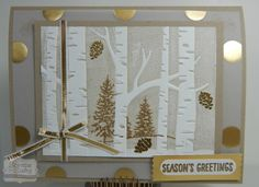 Woodland Embossing Folder  by Laurie Servis (US, No. CA)