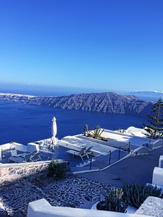 Exceptional view in beautiful Santorini Greek Islands