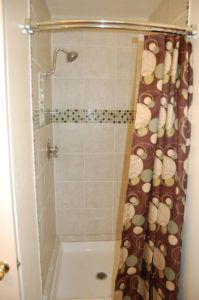 Shower Curtain For Narrow Stall