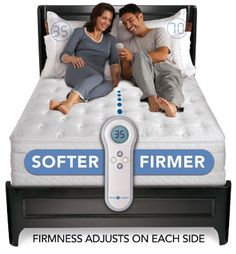 Our Sleep Number bed is one of the best investments that we've ever made.  It's so comfortable!