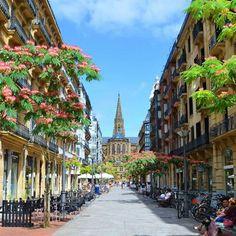 San Sebastián, Spain via @olgadrotenko