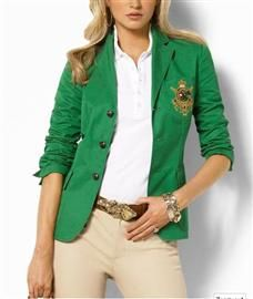 Save at a Polo Ralph Lauren Factory Outlet Near You for sale in London. Save at a Polo Ralph Lauren Factory Outlet Near You available on car boot sale in London. Ralph Lauren Blazer, Ralph Lauren Style, Ralph Lauren Jackets, Green Blazer, Green Jacket, Green Shirt, Fall Fashion Trends, Autumn Fashion, Mode Bcbg