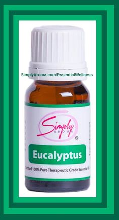 Essential Wellness Simply Aroma Independent Consultant: Eucalyptus Simply Aroma Essential Oil