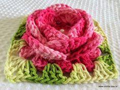 Flor roseta passo a passo - www.croche.com (75)