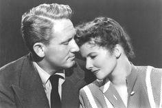 SpencerTracy and Katharine Hepburn