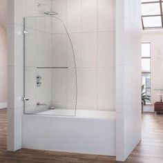 Captivating Semi Framed Shower Enclosure With Sliding Glass Shower Door In Chrome And  Clear Glass | Shower Enclosure, Shower Doors And Doors