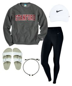 """""""*14"""" by kkayyllee on Polyvore featuring NIKE and Birkenstock"""
