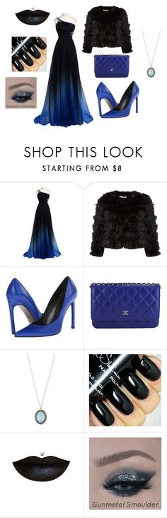 """""""Night out#3"""" by alexandrakeh on Polyvore featuring beauty, Alice + Olivia, Stuart Weitzman, Chanel and Armenta"""