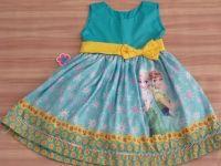 Vestido Frozen Fever Ana Frozen, Summer Dresses, Fashion, Girls Dresses, Moda, Summer Sundresses, Fashion Styles, Fashion Illustrations, Summer Clothing