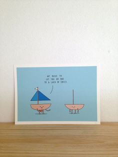 Sails  Art Print A4 by Haasbroek on Etsy, $35.00