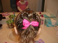 Site dedicated to little girl hair ideas
