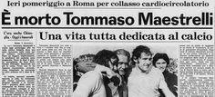 SCRIVOQUANDOVOGLIO: LA MORTE DI TOMMASO MAESTRELLI (02/12/1976)