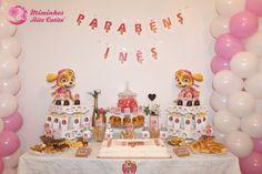 Decoração de Aniversário Menina - Patrulha Pata Birthday Cake, Desserts, Food, Toddler Boy Birthday, Girl Birthday, Favors, Fiestas, Tailgate Desserts, Birthday Cakes