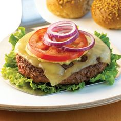 South Beach Diet Classic Burger without bun for Phase 1