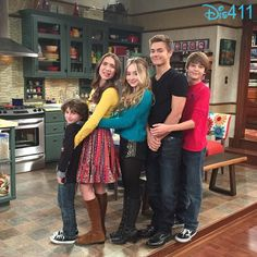 "Flashback Friday Photo: August Maturo With His ""Girl Meets World"" Family February 27, 2015 - Dis411"