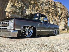 1985 Chevrolet C10 fleetside 87 Chevy Truck, Custom Chevy Trucks, Classic Chevy Trucks, Chevy C10, Chevy Pickups, Chevrolet Trucks, Bagged Trucks, Lowered Trucks, C10 Trucks