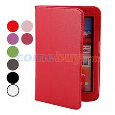 PU estuche de cuero con soporte para Samsung Galaxy tab 2 7.0 P3100 (varios colores)